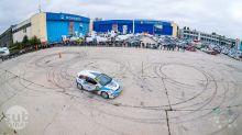 Horia Gheorghe, demonstratie indemanare auto